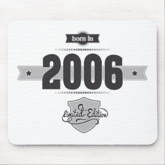 Born in 2006 (Dark&Lightgrey) Mousepad