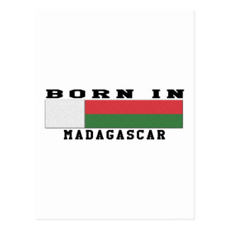 Born In Madagascar Postcard