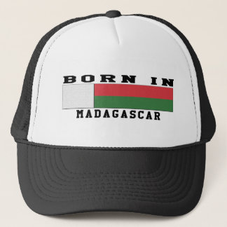 Born In Madagascar Trucker Hat