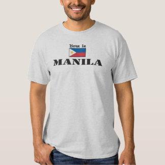 Born in Manila T Shirt