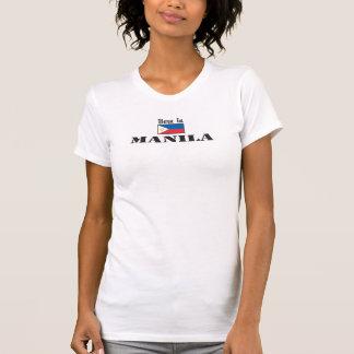 Born In Manila T-shirt