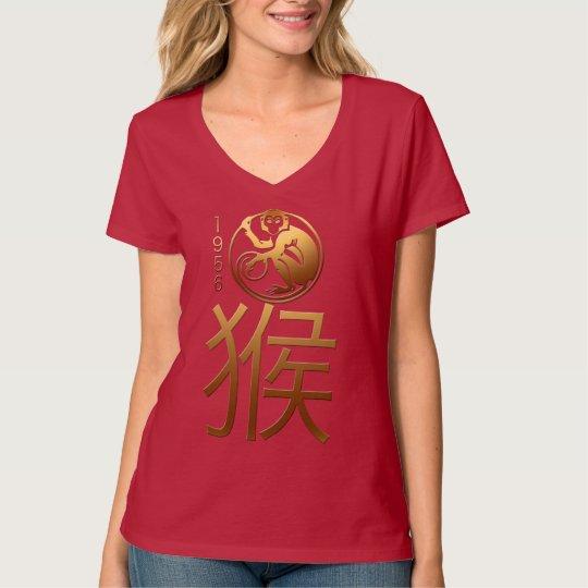 Born in Monkey Year 1956 Chinese Zodiac W