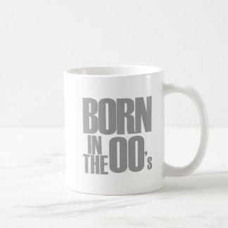 Born in the 00's basic white mug