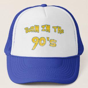 Born In The 90s - worn look Trucker Hat 6b6197b037a