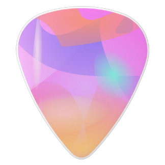 Born in the Sun White Delrin Guitar Pick