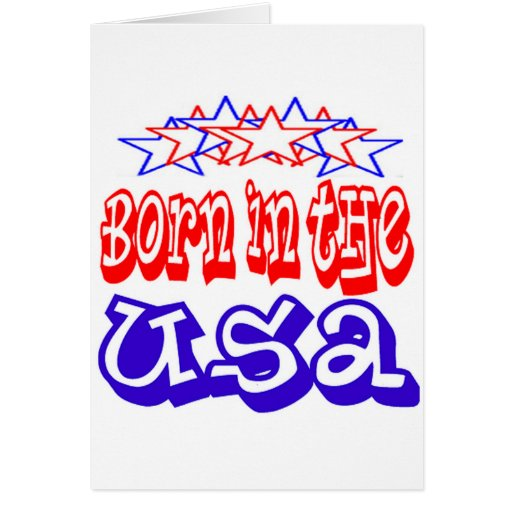 Born in the USA Cards