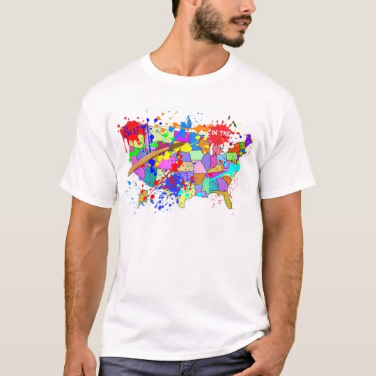 Born in the USA! Fresh Paint Edition T-Shirt