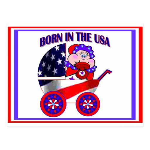 Born in the USA Postcards