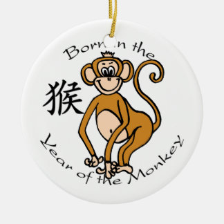 Born in the Year of the Monkey Ornament