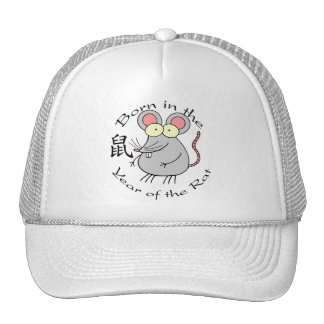 Born in the Year of the Rat (Chinese) Mesh Hat