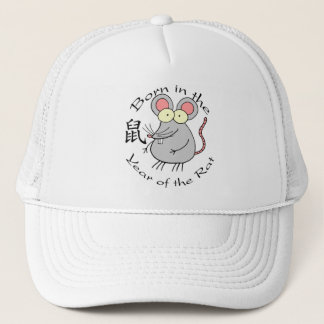 Born in the Year of the Rat (Chinese) Trucker Hat