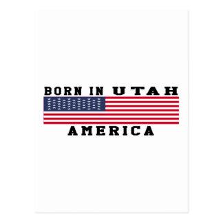 Born In Utah Postcard