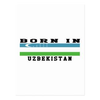Born In Uzbekistan Postcard