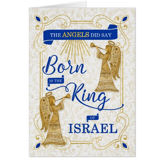 Born is the King of Israel Religious Christmas
