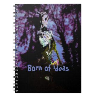 Born of ideas notebooks