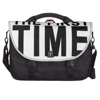 BORN OK THE FIRST TIME.png Laptop Commuter Bag