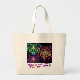 Born on the 4th of July Canvas Bag