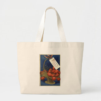 Born On The 4th Of July Jumbo Tote Bag