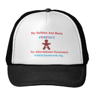 Born Perfect- Genital Autonomy For All Cap