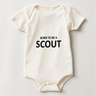 Born Scout Baby Bodysuit