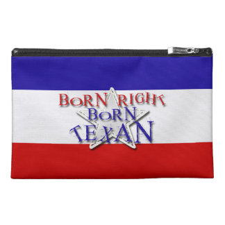 BORN TEXAN TRAVEL ACCESSORY BAGS