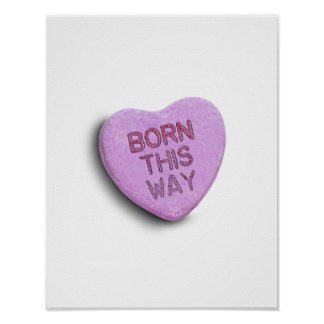 BORN THIS WAY CANDY PRINT