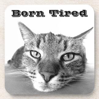 Born Tired Coaster