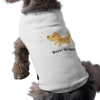 Born to Bark Dog Jumper Sleeveless Dog Shirt