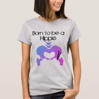 Born to be a Hippie PAO Women's T Shirt Purple Hue