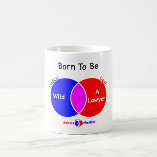 Born To Be A Lawyer Mug