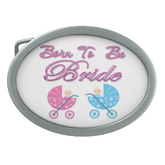 born to be bride bachelorette wedding bridal party belt buckle