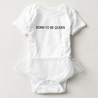 Born To Be Queen Baby Girl Baby Bodysuit