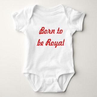 Born to be Royal vest unisex Baby Bodysuit