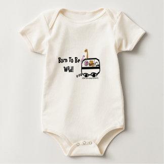 Born to be Wild! Baby Bodysuit