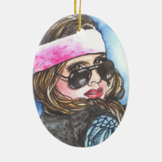 Born to be Wild Christmas Ornament