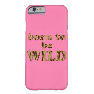 Born to be wild - Tigerprint iPhone case