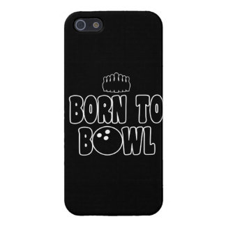 Born To Bowl iPhone 5 Cases
