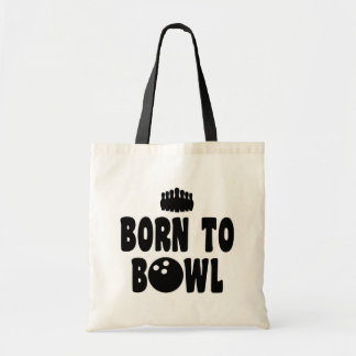 Born To Bowl Tote Bag