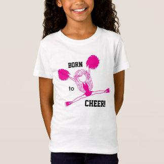 Born to Cheer - Hot Pink T-Shirt