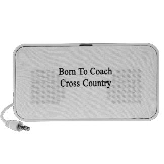 Born To Coach Cross Country Mp3 Speaker