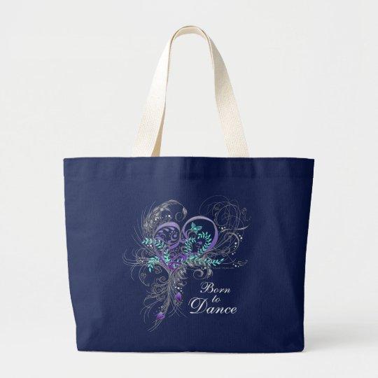 Born to Dance Dark Tote Bag