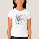 Born to Dance Girls Babydoll T (customisable) T Shirts
