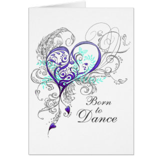 Born to Dance Greeting Card
