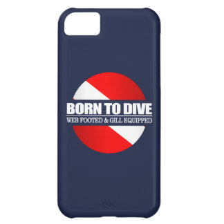 Born To Dive (rd) iPhone 5C Case