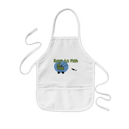 Born To Fish Aprons