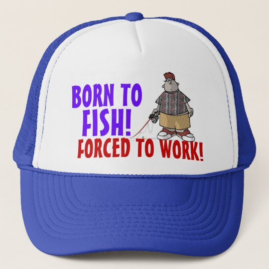 Born to Fish Cap