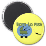 Born To Fish Magnets
