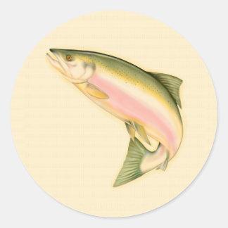 Born to Fish Round Sticker