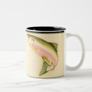 Born to Fish Two-Tone Coffee Mug