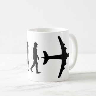 Born to Fly - Pilot Evolution Coffee Mug